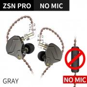 Fone de ouvido KZ Zsn Pro Cinza