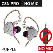 Fone de ouvido KZ Zsn Pro Lilas