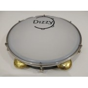 Pandeiro Dizzy 10 Pol Super Leve Marrom Escuro