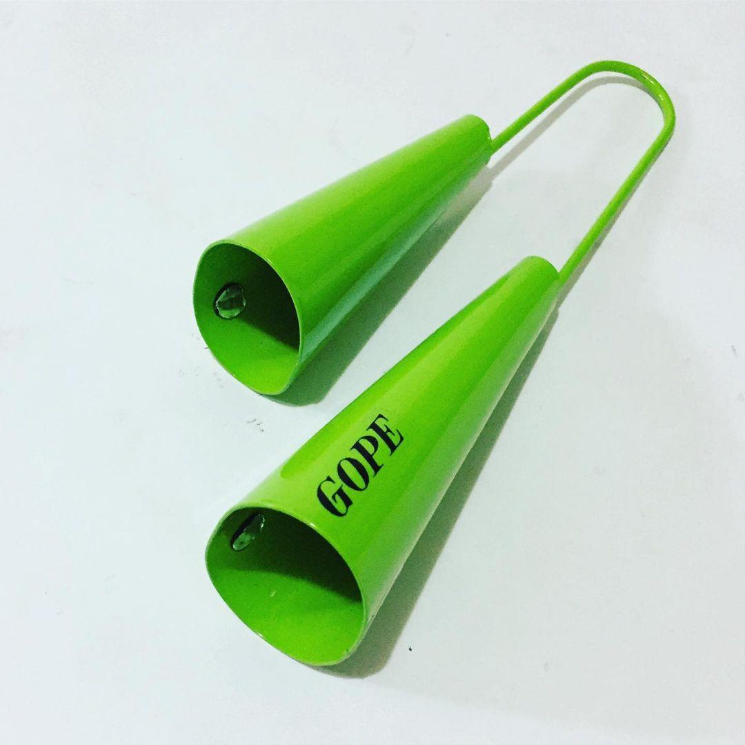 Agogo Duplo Gope Verde Limao