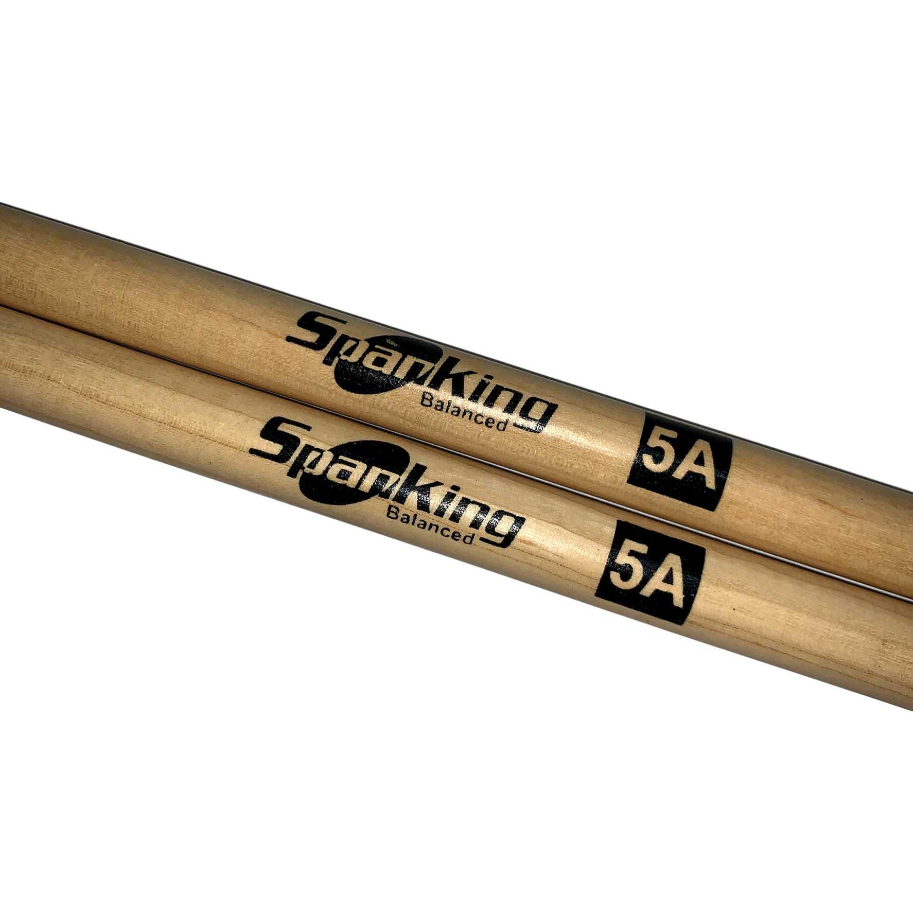 Baqueta 5a Ponta de madeira Spanking Par Kit c/ 4