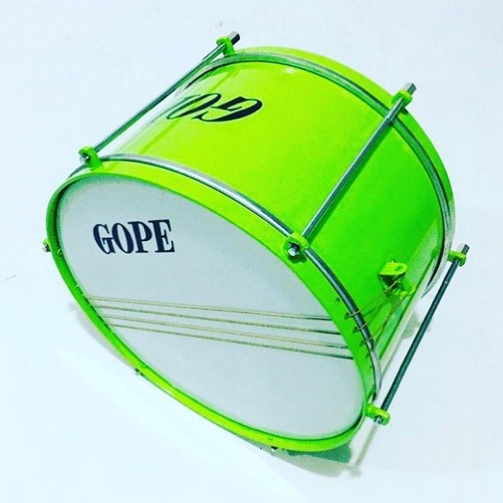 Caixa Malacacheta Gope 12 pol 20 cm Verde Limao