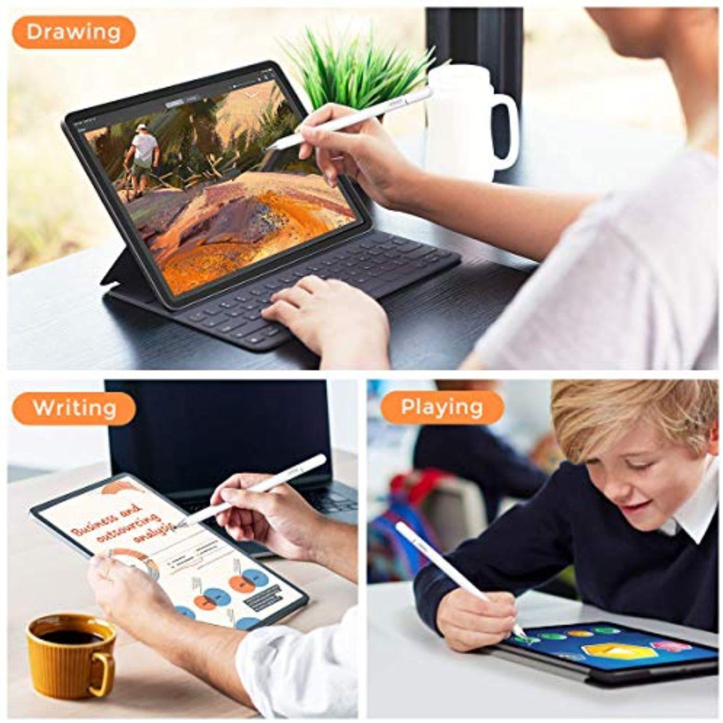 Caneta Capacitiva Joyroom Tablet iPad + Luva Premium