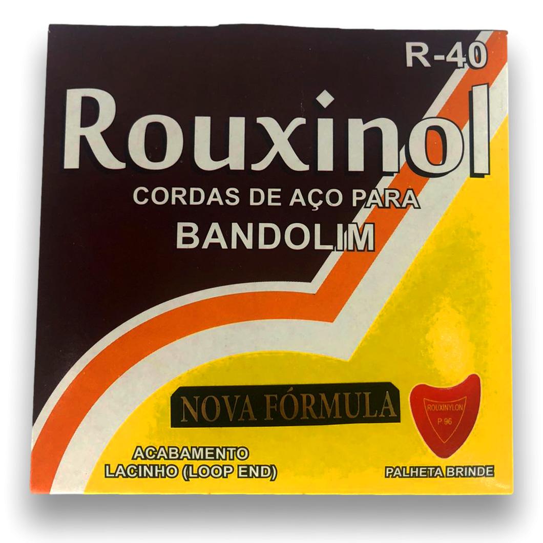 Encordoamento Bandolim Rouxinol R40