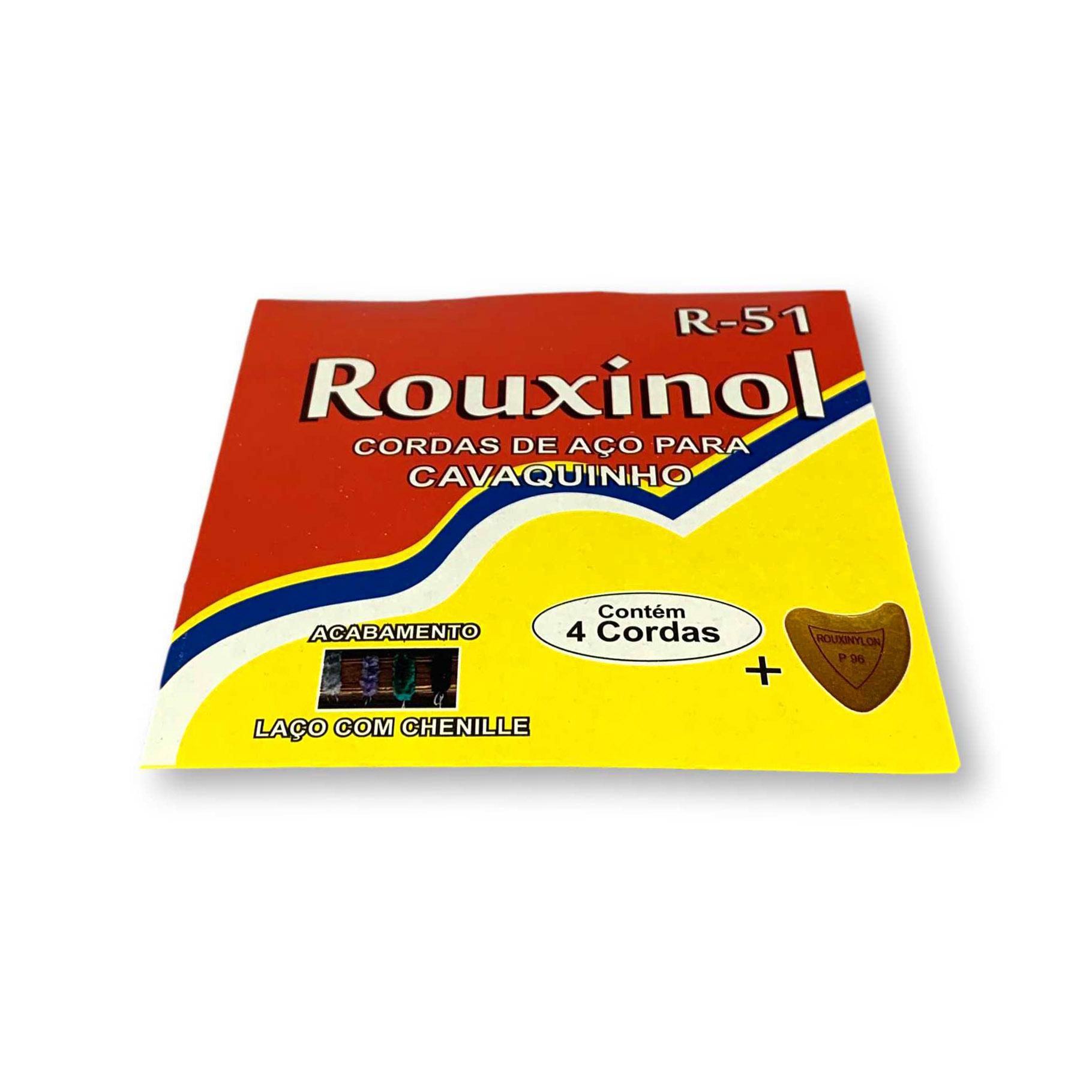 Encordoamento Cavaquinho Rouxinol R51