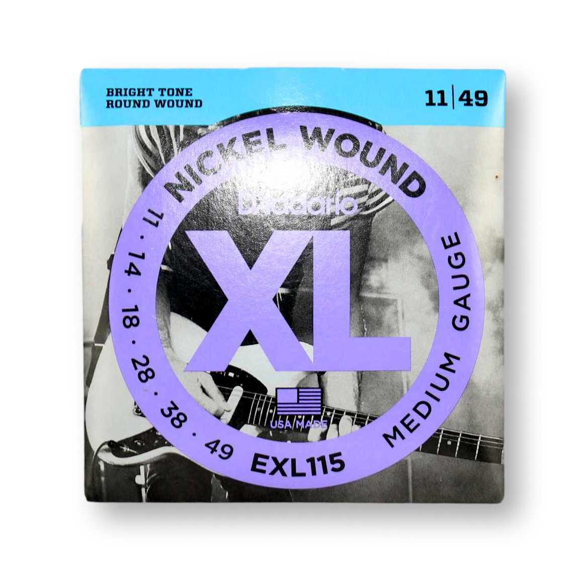 Encordoamento Guitarra Daddario 011 EXL115