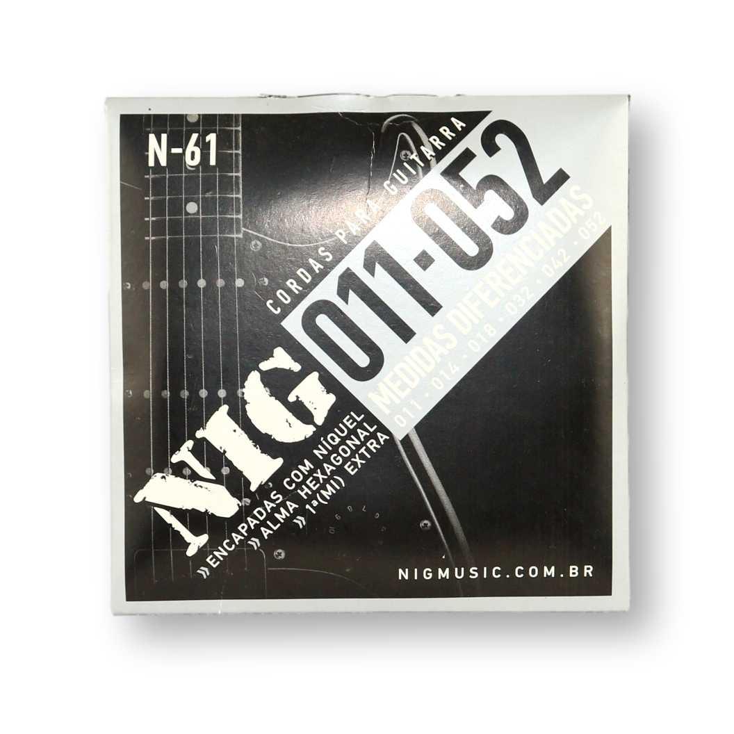 Encordoamento Guitarra Nig 011 N61