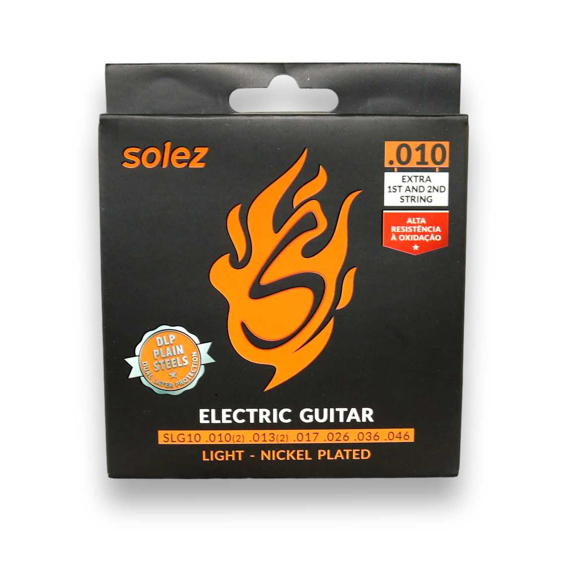 Encordoamento Guitarra Solez 010 SLG10