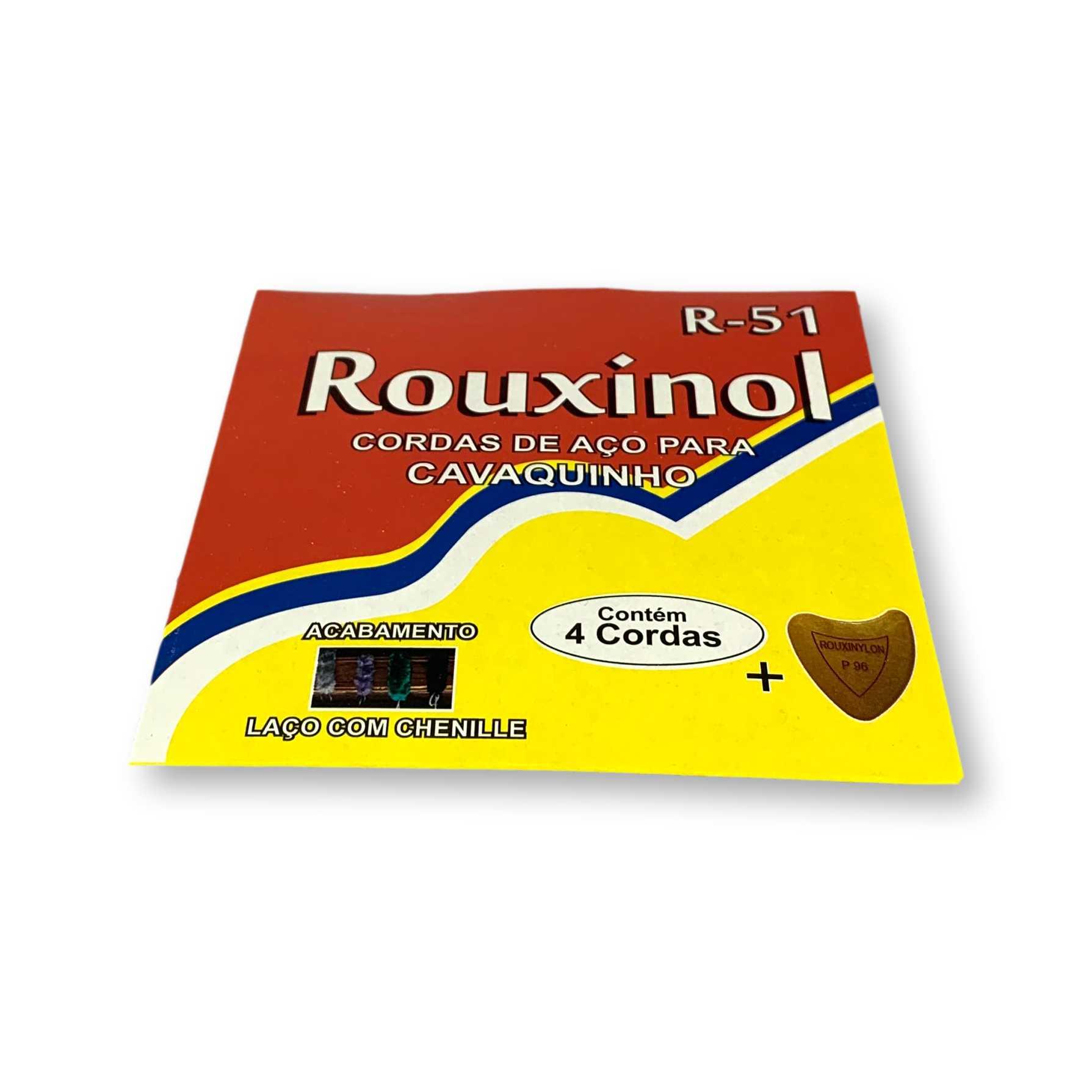 Encordoamento Rouxinol Para Cavaquinho Caixa Com 12 R51
