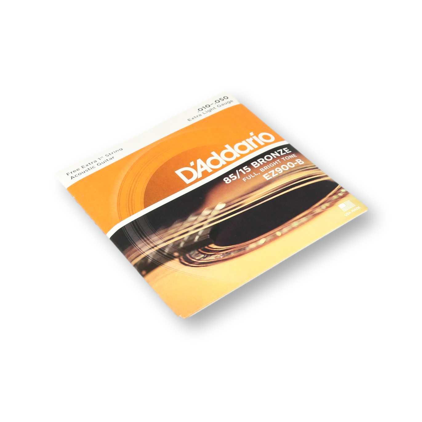 Encordoamento Violão Aço Daddario 010 EZ900