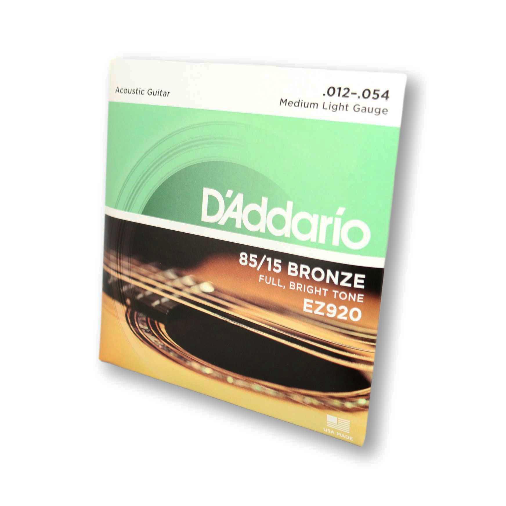 Encordoamento Violão Aço Daddario 012 EZ920