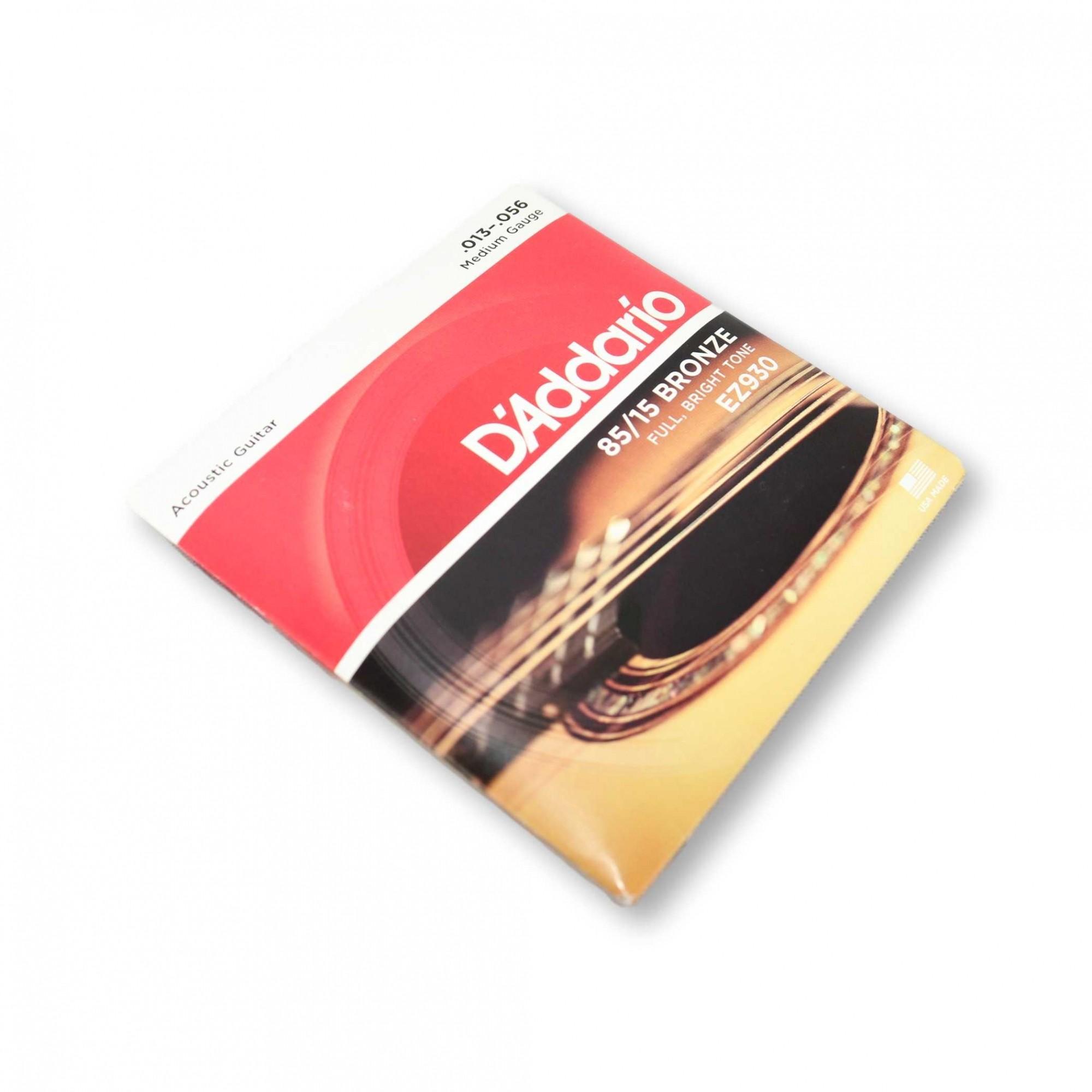 Encordoamento Violão Aço Daddario 013 EZ930