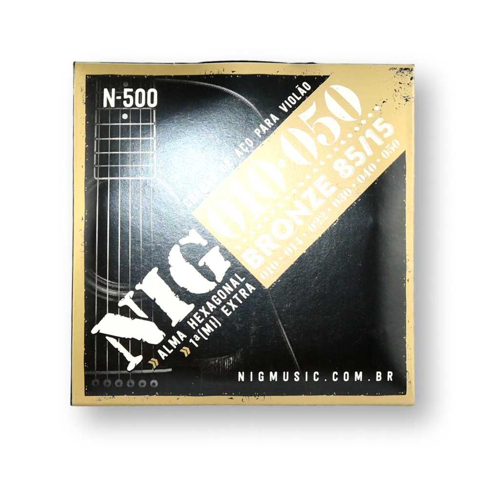 Encordoamento Violão Aço Nig 010 N500