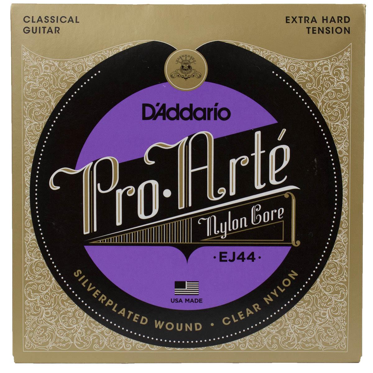 Encordoamento Violão Nylon Daddario Pro Arte Ej44 Extra Alta