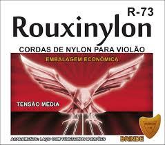Encordoamento Violão Nylon Rouxinol R73 Tensão Media