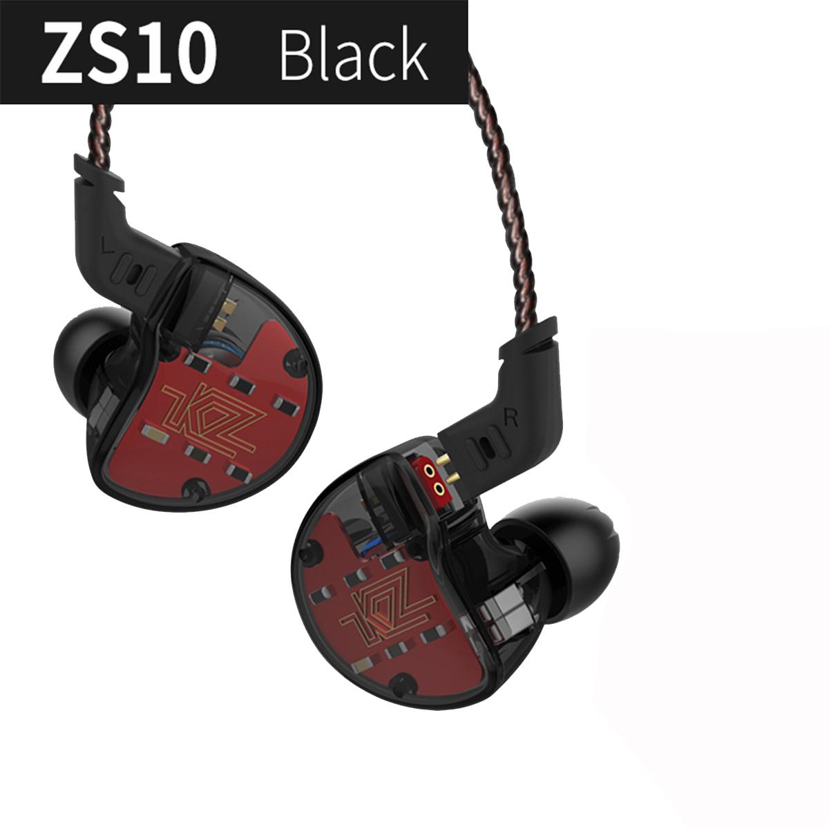 Fone de ouvido KZ Zs10 Preto