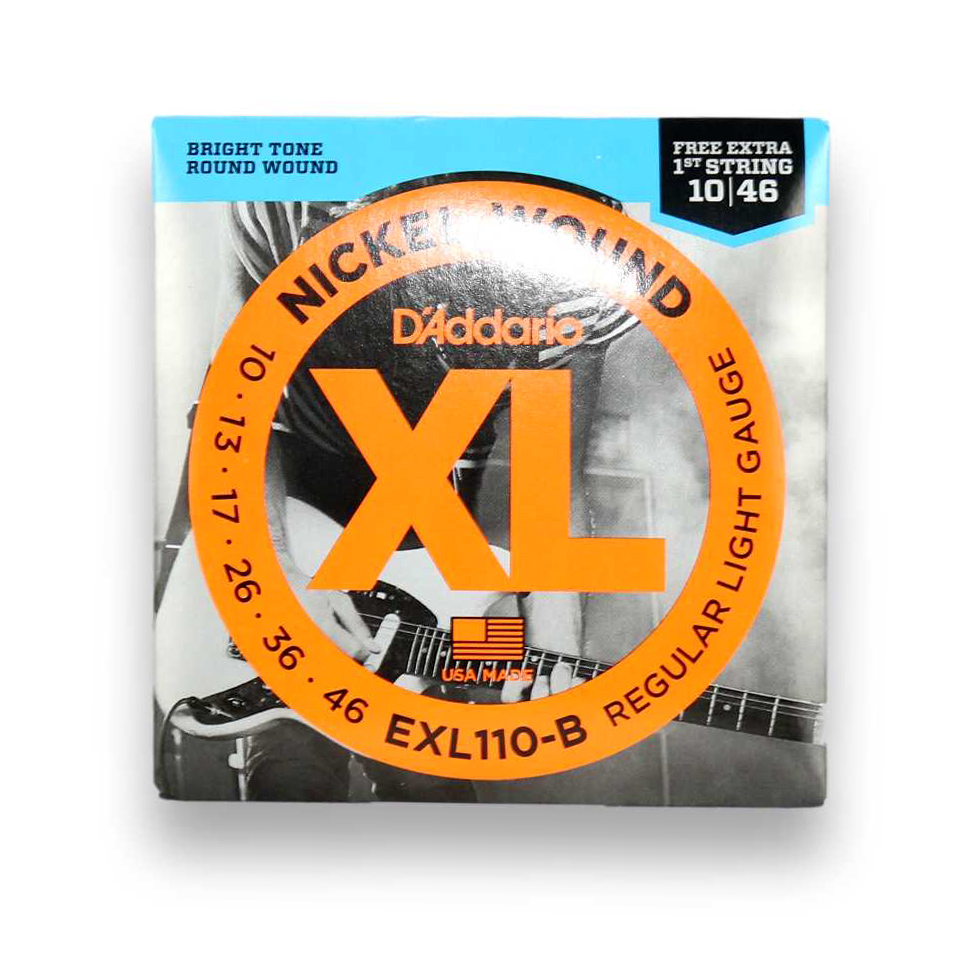 Kit 2 Encordoamento Guitarra Daddario 010 EXL110