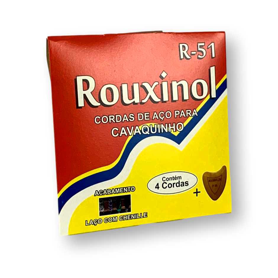 Kit 3 - Encordoamento Cavaco Rouxinol R - 51