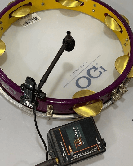Microfone Lapela para Instrumento