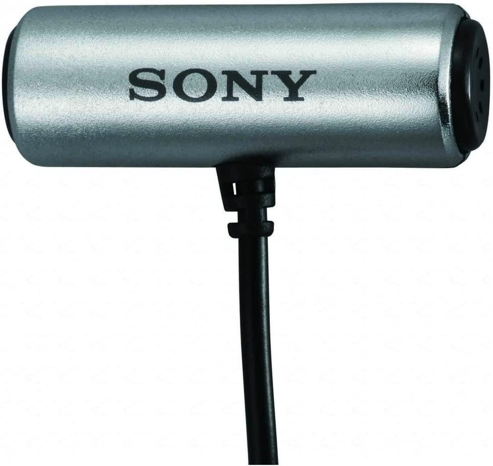 Microfone Lapela Sony ECMCS3