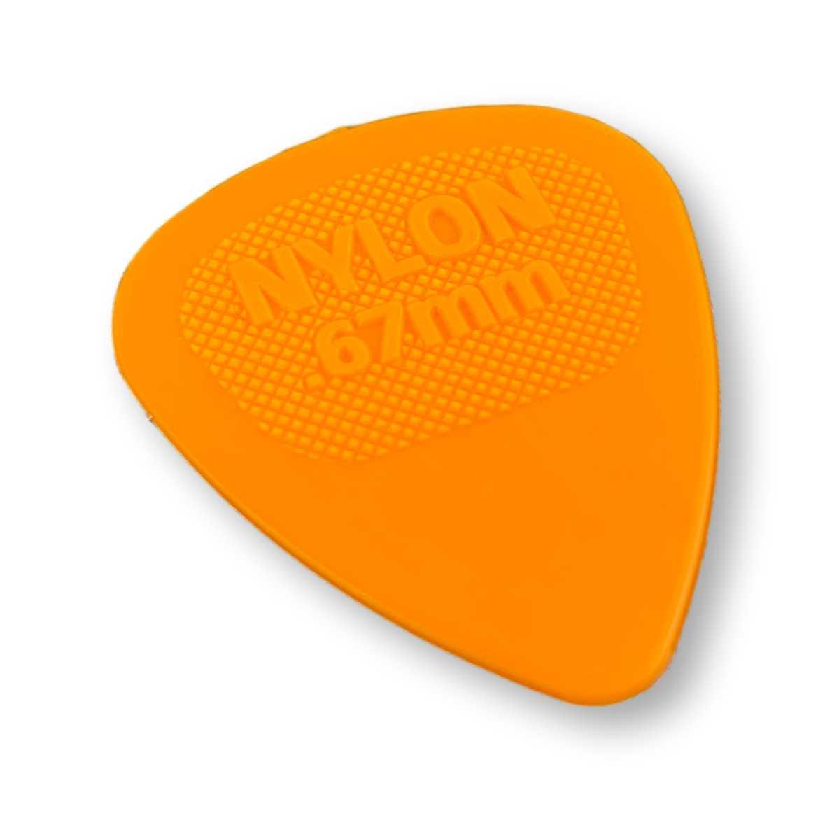Palheta Dunlop 0.67 mm Nylon
