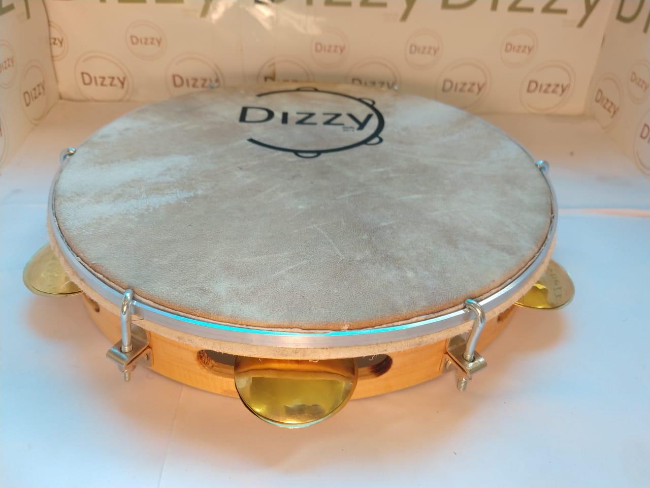 Pandeiro Chorinho Dizzy 11 Pol Couro