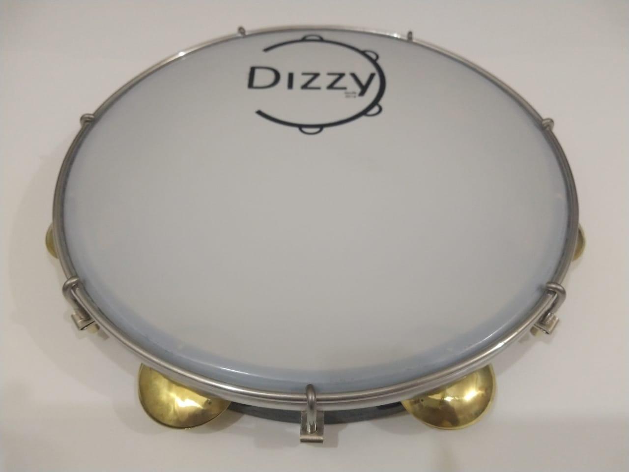 Pandeiro Dizzy 11 Pol Super Leve Marrom Escuro