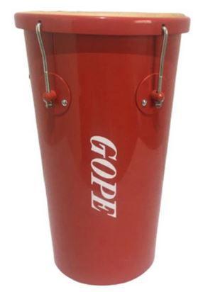 Rebolo Gope Conico 11 pol 55 cm Vermelho