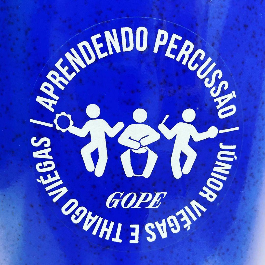 Rebolo Gope Conico 12 pol 65 cm Aprendendo Percussao