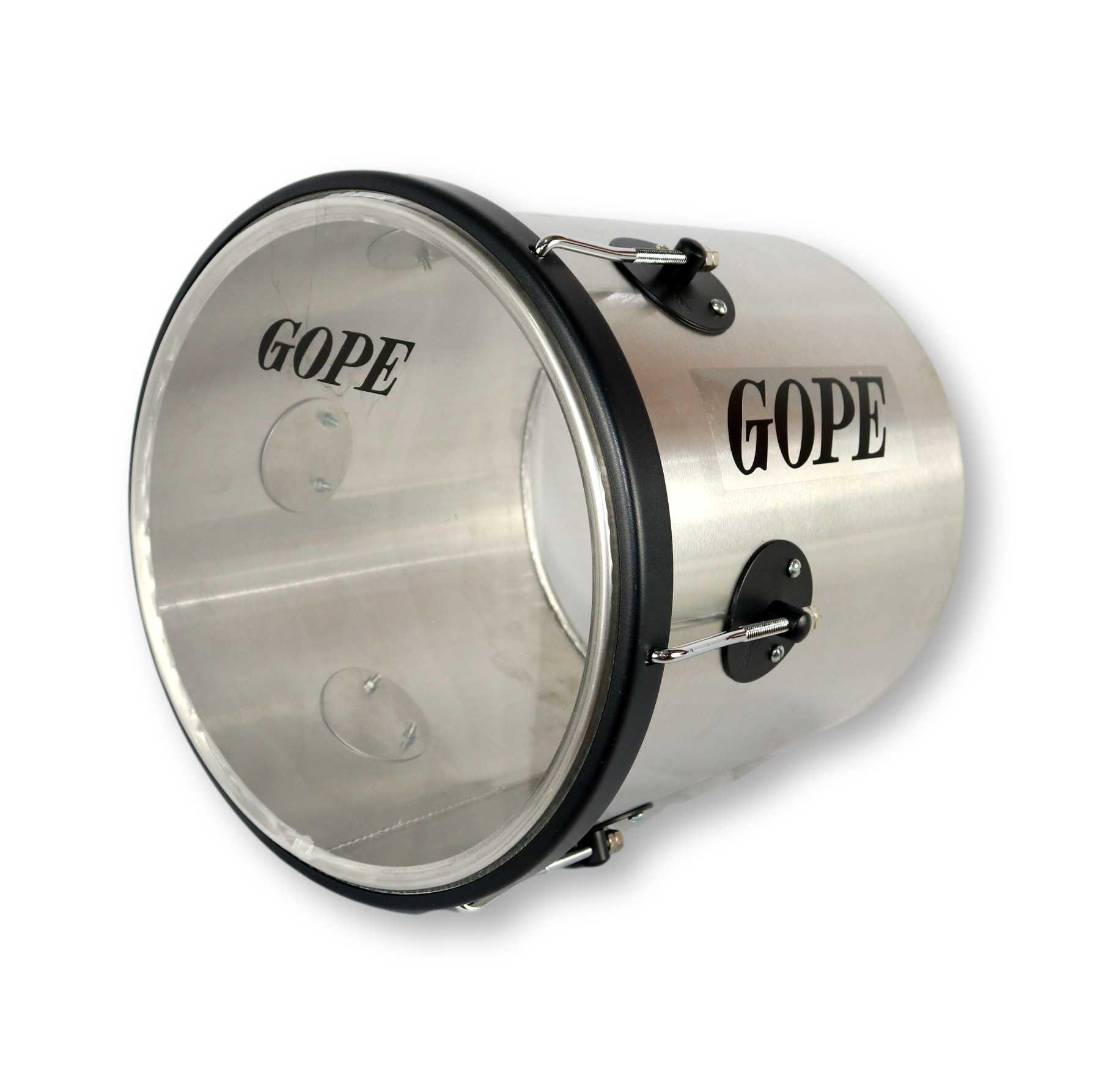 Repique de Mão Gope 11 pol Aluminio Pele Cristal