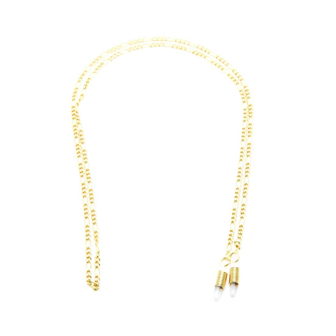 Corrente Metal A 105 62cm Cor Ouro