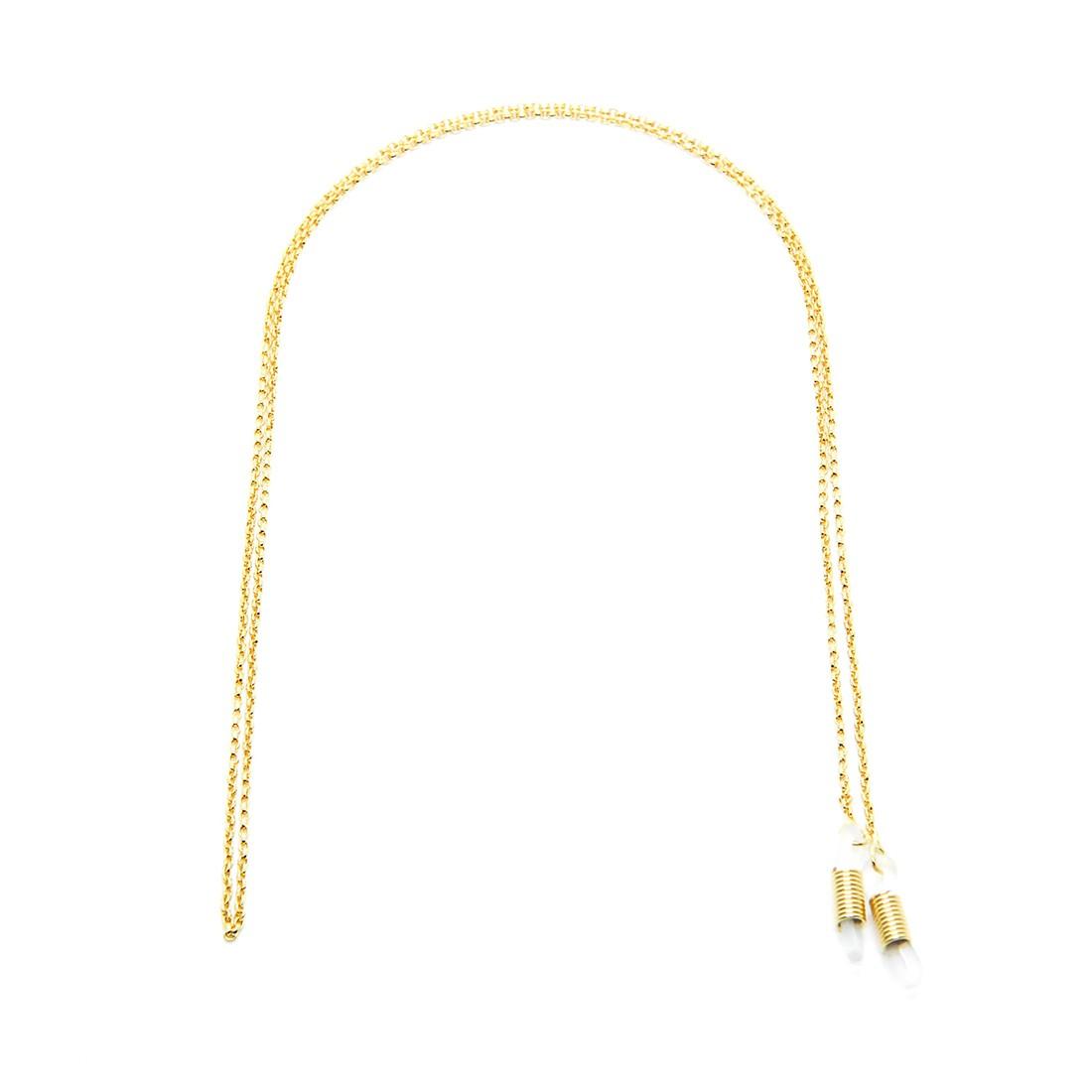 Corrente Metal A 129 62cm Cor Ouro