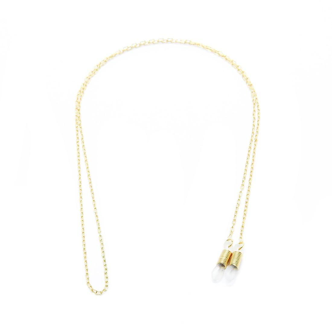 Corrente Metal B 065 62cm Cor Ouro