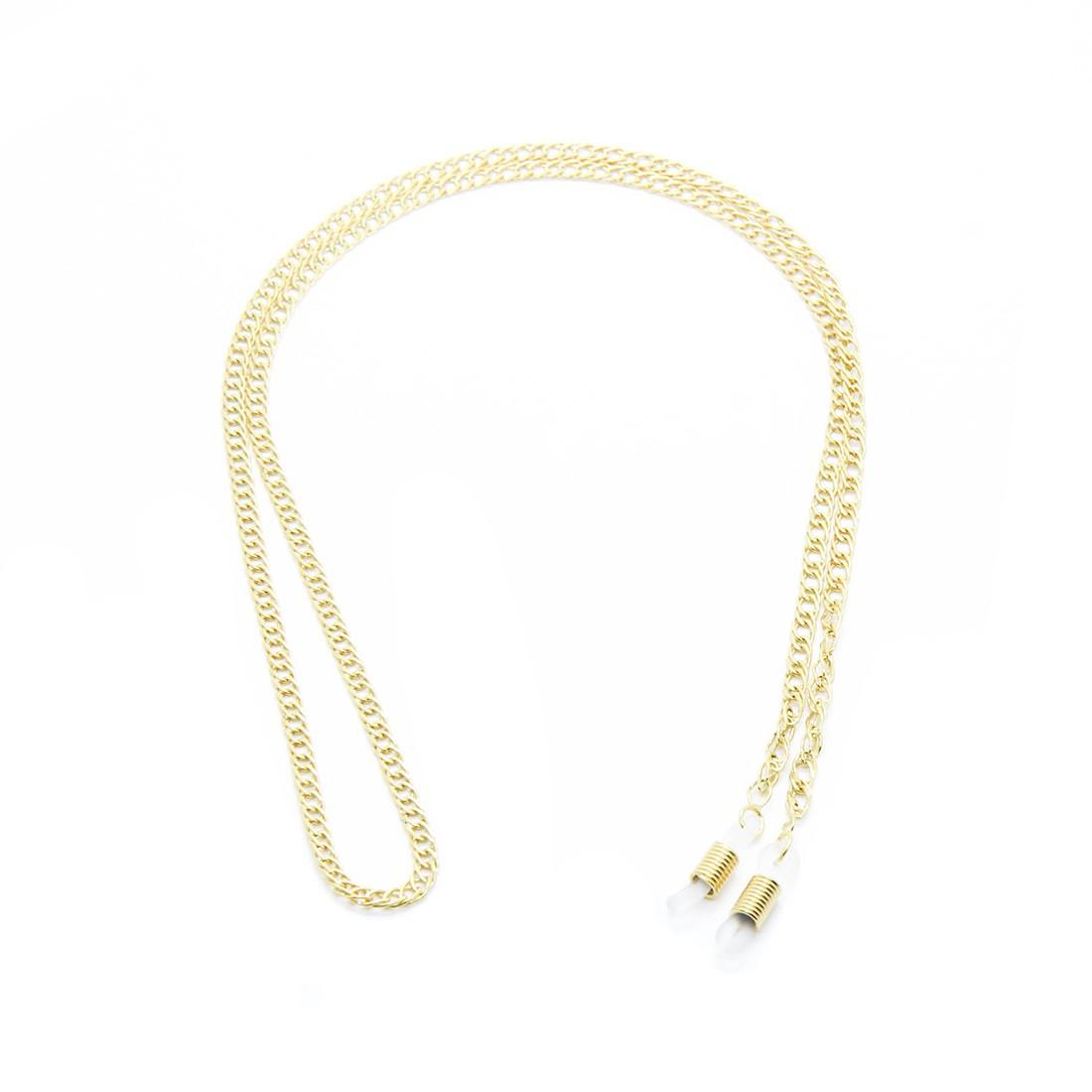 Corrente Metal B 148 62cm Cor Ouro