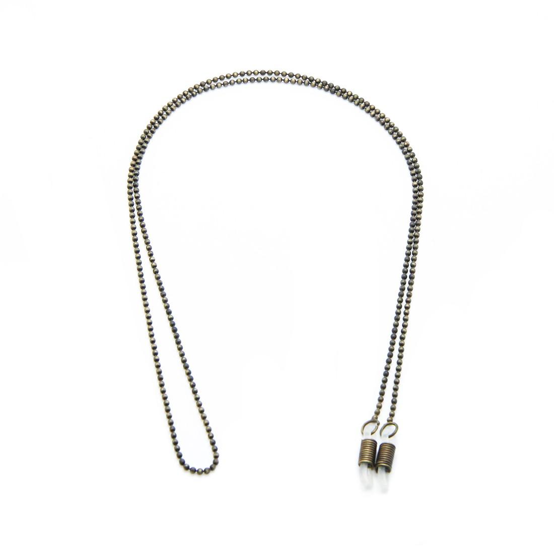 Corrente Metal B 1800 62cm Cor Ouro