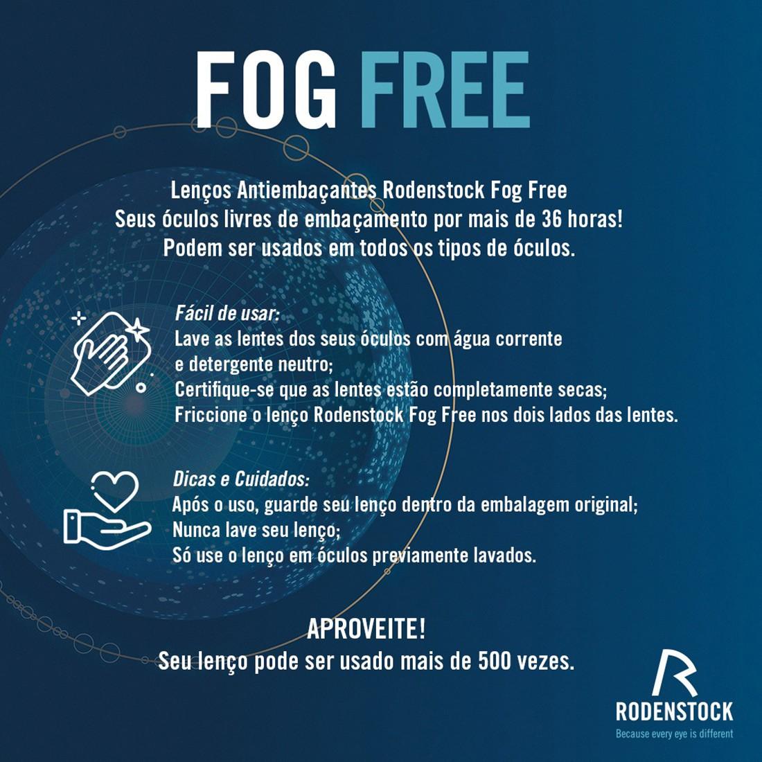 FLANELA DE LIMPEZA FOG FREE