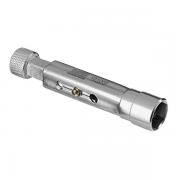 "Chave de Vela de 21mm com Encaixe de 1/2"" e Comprimento Regulável - RAVEN 101002"