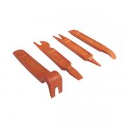 Conjunto 4 espátulas p/desmontar acabamentos internos - Raven 107200