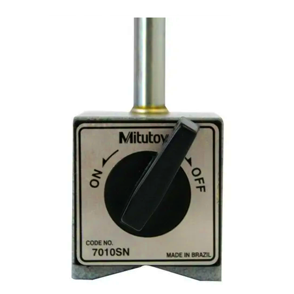 Base Magnética com Braço Articulado Mitutoyo 7010sn