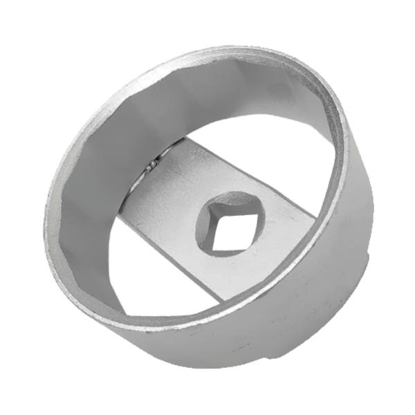 """Chave com Encaixe de 14 Lados e 67mm para Filtro de Óleo - Encaixe de 1/2"""" - RAVEN 101041"""