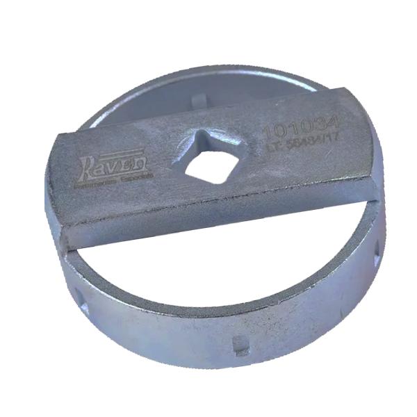 """Chave de 76,4mm e 6 """"dentes"""" Para Filtro de Óleo - Encaixe de 1/2"""" - RAVEN 101034"""
