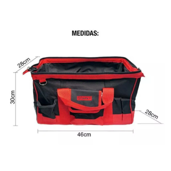 SupplyKIT - Chaves Combinadas GEDORE 25peças + Bolsa de Lona 32bolsos MTX