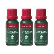 Capicilin - ANTIQUEDA - Kit 3 Tônicos Capilar Queda 20ml
