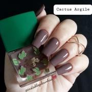 Esmalte Marrom Latika Cactus Argile
