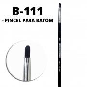Pincel Para Batom B111 Linha Black Profissional Macrilan