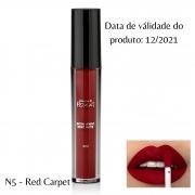Pozzi - Batom Liquido N° 5 Red Carpet - Válidade 11/2021