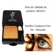 Pozzi - Sombra Compacta Uno  N° 05 - Dourada - Válidade 09/2021