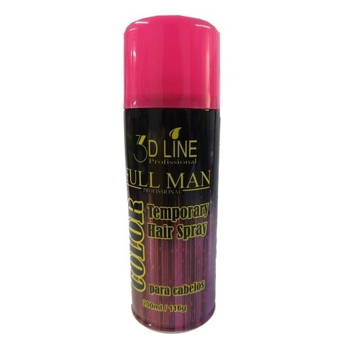 3D - Full Man Spray Color Rosa 200ml
