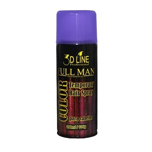 3D - Full Man Spray Color Roxo 200ml