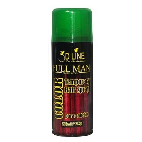 3D - Full Man Spray Color Verde 200ml